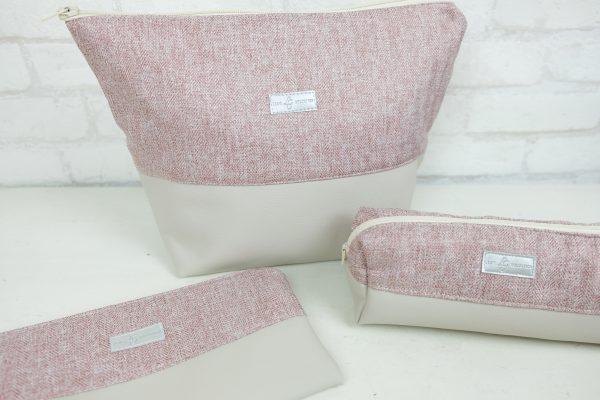 Kosmetiktasche XXL Casual Rosé